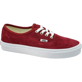 Chaussures Vans Authentic W VN0A38EMU5M1 rouge
