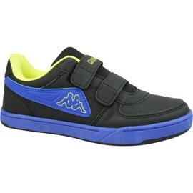 Kappa Trooper Ice Jr 260745K-1160 chaussures noir