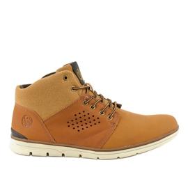 Chaussures de randonnée marron isolées pour hommes X926-14 brun