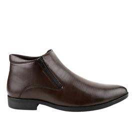 Chaussures basses isolées brunes HL1002-3