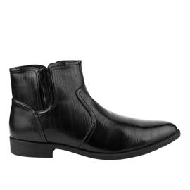 Chaussures basses isolées noires HL1005-2