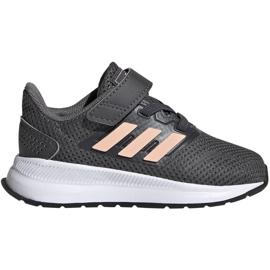 Adidas Runfalcon I Jr EG2224 chaussures gris