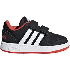 Chaussures Adidas Hoops 2.0 Cmf I Jr B75965 noir