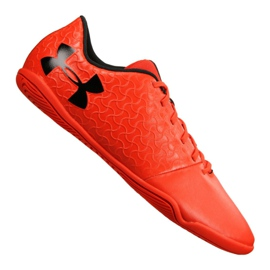 Chaussures Indoor Under Armour Magnetico Select Ic M 3000 117-600 orange rouge
