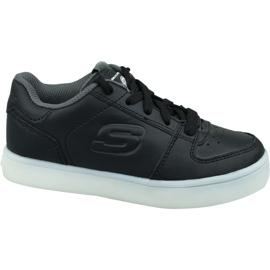 Chaussures Skechers Energy Lights Jr 90601L-BLK noir