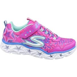 Chaussures Skechers Galaxy Lights Jr 10920L-NPMT rose