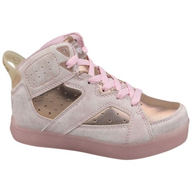 Chaussures Skechers E-Pro Ii Lavish Lights Jr 20061L-LTPK rose