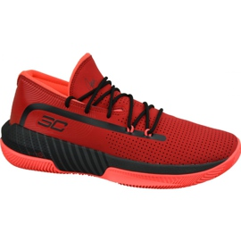 Under Armour Sc 3Zero Iii M 3022048-601 chaussures rouge rouge