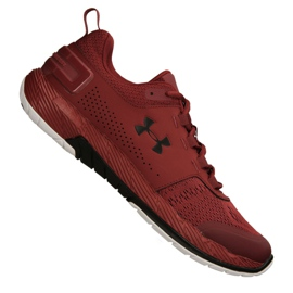 Souliers d'entraînement Under Armour Commit Tr Ex M 3020789-600 rouge