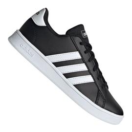 Chaussures Adidas Grand Court Jr EF0102 noir