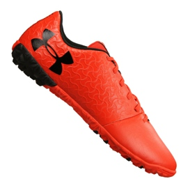 Chaussures de football Under Armour Magnetico Select Tf M 3000116-600 orange rouge