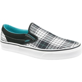 Chaussures Vans Classic Slip-On M VN0LYFL6W gris