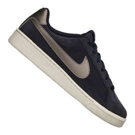 Chaussures Nike Court Royale Suede M 819802-403 marine
