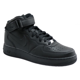 Nike Air Force 1 Mid 07 M 315123-001 chaussures noir