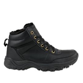 Chaussures isolées noires GT-9578-1