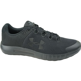 Under Armour Micro G Pursuit Bp W 3021969-001 chaussures de course noir