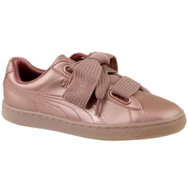 Puma Basket Heart Copper W 365463-01 chaussures rose