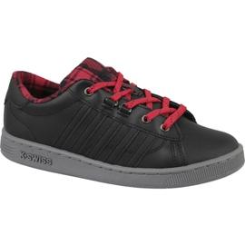 Chaussures K-Swiss Hoke Plaid Jr 85111-050 noir