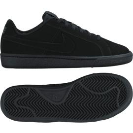 Nike Court Royale Gs Jr 833535-001 chaussures noir