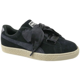 Chaussures Puma Basket Heart Metallic Safari W 364083-03 noir