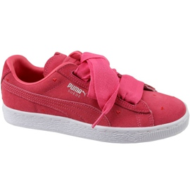 Puma Suede Heart Jr 365135-01 chaussures rouge