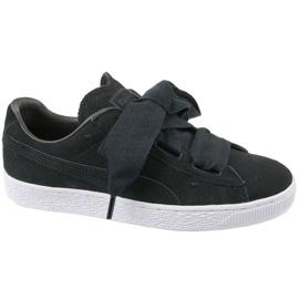 Puma Suede Heart Jr 365135-02 chaussures noir