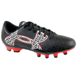 Under Armour Clutchfit Force 2.0 Fg Jr 1264205-006 chaussures noir, rouge noir