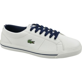 Chaussures Lacoste Riberac 119 Jr 737CUJ0020WN1 blanc