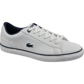 Chaussures Lacoste Lerond Bl 2 Jr 737CUJ0027042 blanc