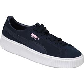 Chaussures Puma Suede Platform Jr 363663-03 marine