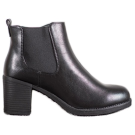 J. Star Bottines noir