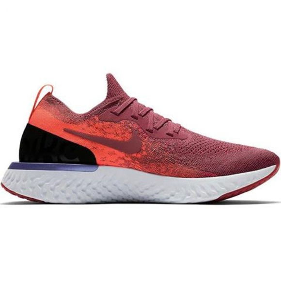 Nike Epic React Flyknit W AQ0070 601 chaussures de course rouge