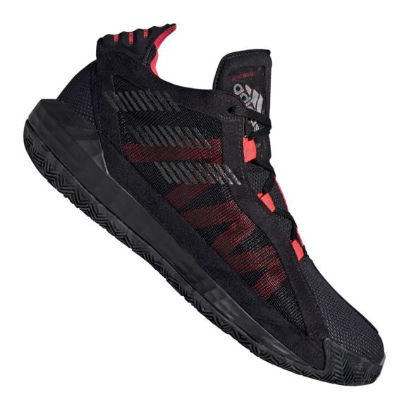 Adidas Dame 6 M EF9866 chaussures noir, rouge noir