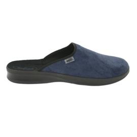 Befado chaussures pour hommes pu 548M018 noir marine