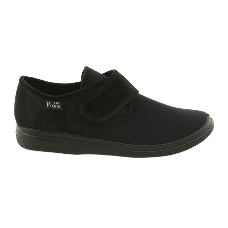 Befado chaussures pour hommes pu 036M006 le noir