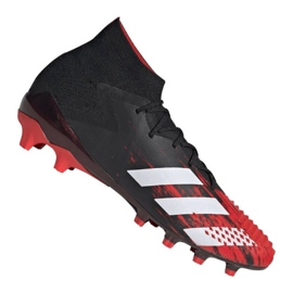 Chaussures Adidas Predator 20+ Sg M EF1567 noir, rouge