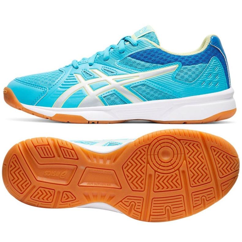 Chaussures Asics Upcourt 3 Gs Jr 1074A005-400 bleu bleu