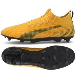 Chaussure de foot Puma One 20.3 Fg Ag M 105826 01 jaune