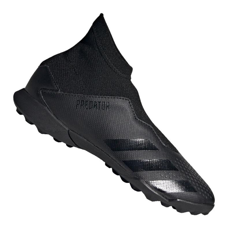 Adidas Predator 20.3 Ll Tf Jr FV3118 chaussures noir noir