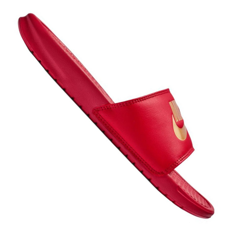 Chaussons Nike Benassi Jdi Slide M 343880-602 rouge