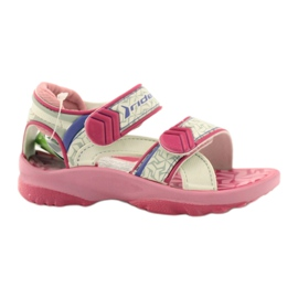 Sandales roses pour enfants chaussures pour l'eau Rider 80608 ['nuances de rose', 'nuances de gris et argent', 'biel']