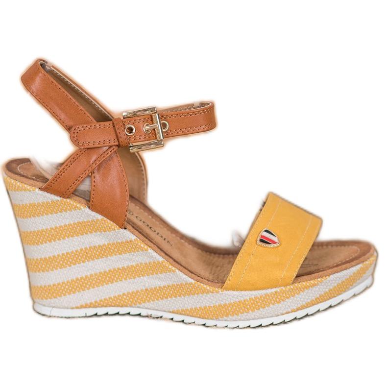 Goodin Sandales compensées à la mode