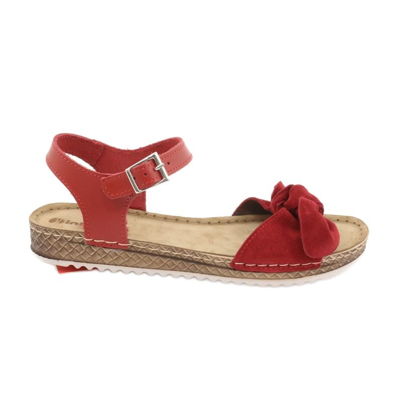 Chaussures femme Comfort Inblu 158D117 rouge