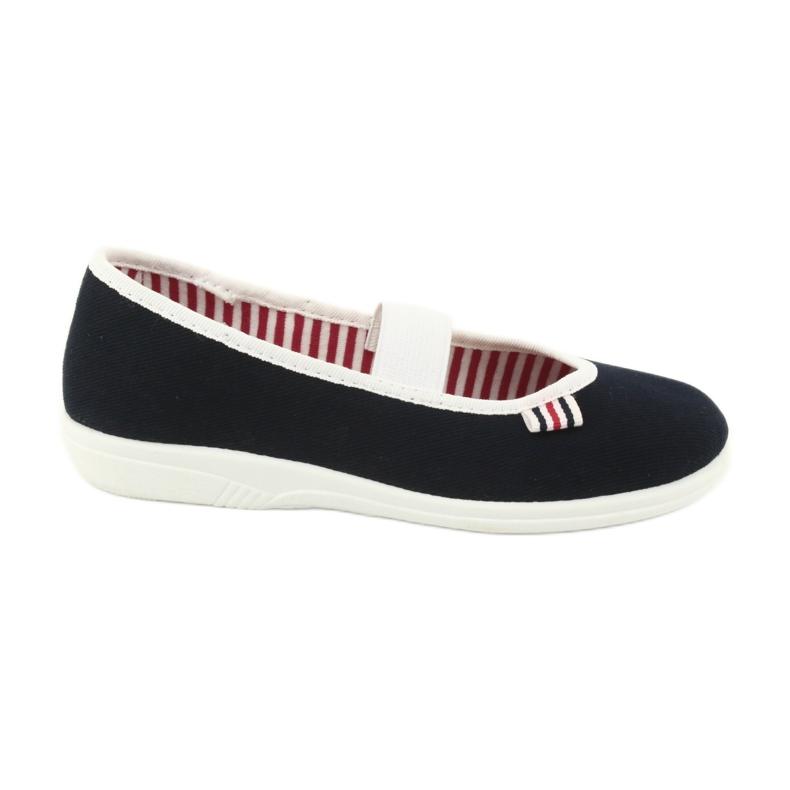 Chaussures Befado pour enfants 274X014 marine