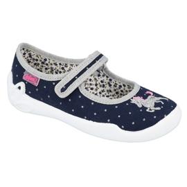 Befado chaussures pour enfants 114X414 marine gris