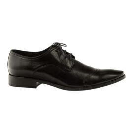Chaussures en cuir Pilpol 1385 noir