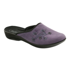 Befado, chaussures de ville, chaussons 552D006 pourpre multicolore 1