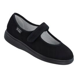Befado chaussures pour femmes pu 462D002 noir 1