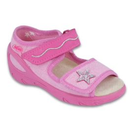 Befado chaussures pour enfants pu 433X032 rose 1
