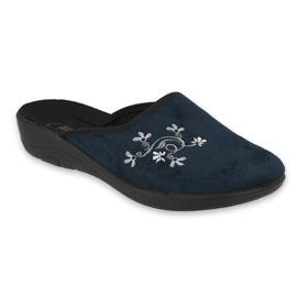 Chaussures femme Befado pu 552D005 bleu marin 1